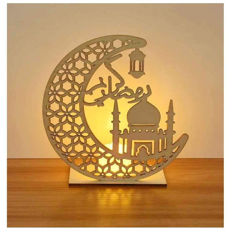 Décoration ramadan en bois M1