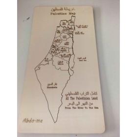 خريطة فلسطين للتركيب